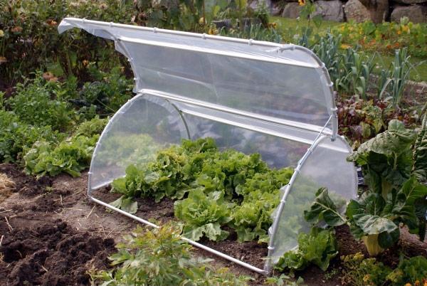 Gartenhaube GH100-150A (Aluminium)